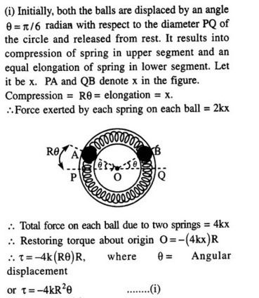 Jee Main Previous Year Papers Questions With Solutions Physics Simple Harmonic Motion Learn Cbse This Or That Questions Solutions Physics