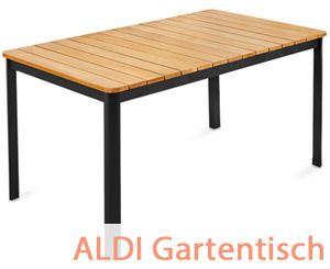 Aldi Gartentisch Mit Wendeplatte In 2021 Gartentisch Alu Klapptisch Tisch