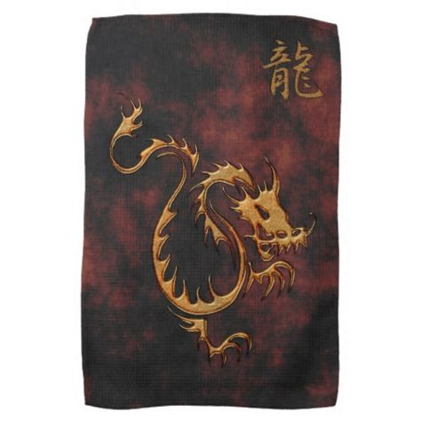 Chinese Year Of The Dragon Asia Towels