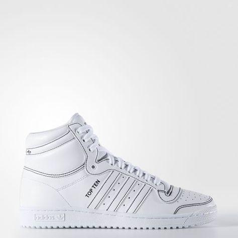 TENIS TOP TEN Branco adidas | adidas Brasil | Sapatos