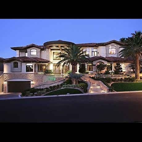 Exotic Homes nicolas cages foreclosed las vegas home. | kiwi dream home ideas