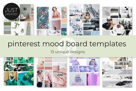 Pinterest Mood Board Templates