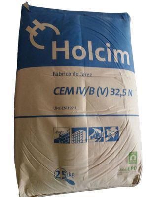 Saco De Cemento 32 5 25 Kg Holcim Leroymerlin Es Cemento Interior Exterior Pintura Puertas
