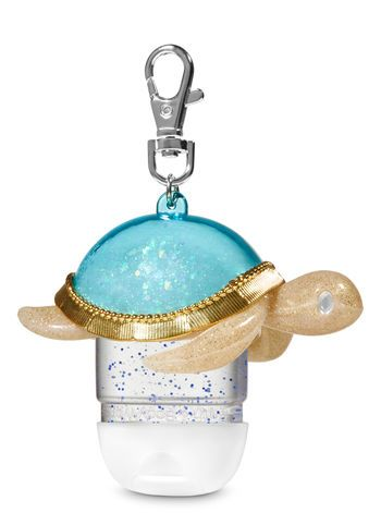 Sparkly Sea Turtle Pocketbac Holder Bath And Body Works Bath