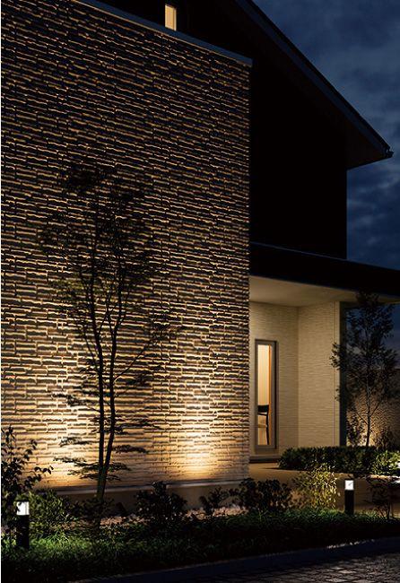 深彫り 次世代外装パネル レジェール 屋根材 外壁材 雨といのケイミュー 家 外観 住宅 外観 屋根