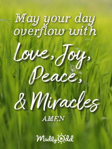 Peace & Miracles
