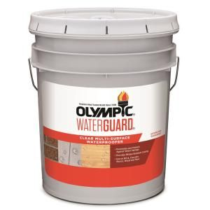Olympic Maximum 5 Gal Clear Exterior Waterproofing Sealant 57500a 05 Wood Sealer Staining Wood Exterior Stain
