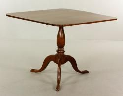 19TH C. QUEEN ANNE STYLE BREAKFAST TABLE  Estate of Mary L. Alchian of Palm Springs, CA   Kaminski Auctions 1/18/15