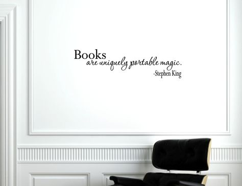 vinyl decals about books - google search   mongram me this