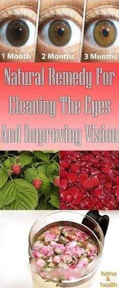 Health And Natural Medicine #improvevision