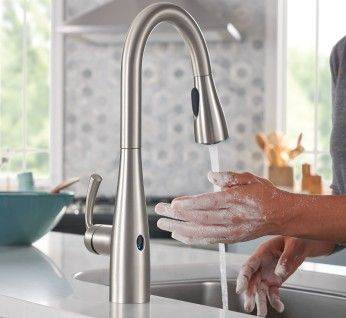 Pull Down Touchless Kitchen Faucet