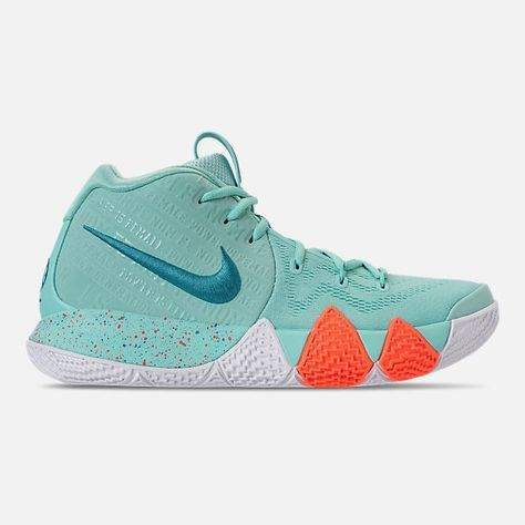 Right view of Men's Nike Kyrie 4 Basketball Shoes in Light ...
