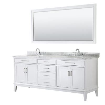 Wyndham Collection Margate 80 In W X 22 In D Bath Vanity In