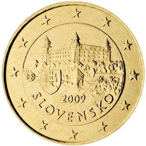 50 Cent Slovakian Euro Coins Are Devided Into Three Motif Groups One For The Coins 1 Cent 2 Cent And 5 Cent One For The 10 Cen Euro Coins Coins Euro
