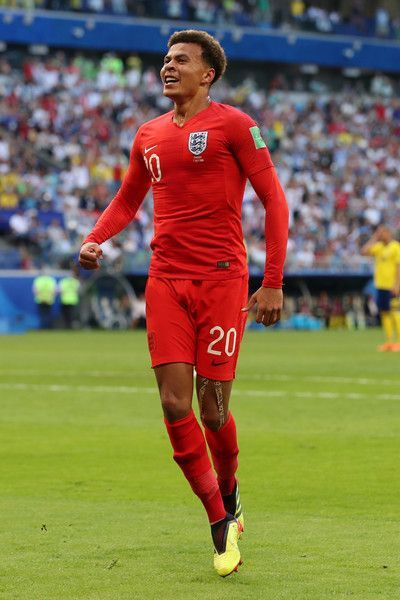 Sweden Vs England Quarter Final 2018 Fifa World Cup Russia Dele Alli England Players Fifa