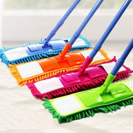 Moaere Soft Bristle Rubber Broom Sweeper Dry And Wet Floor Mopping And Cleaning Sweeper With Telescopic Handle Walmart Com Rubber Broom Wet Floor Microfiber Mops