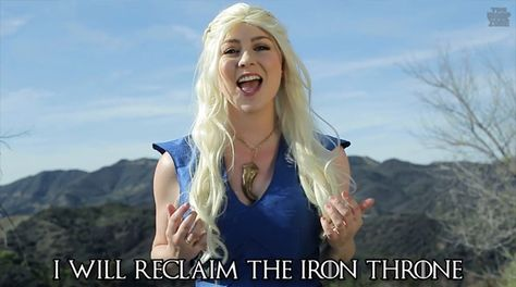 Game of Thrones Medley, The Houses of Westeros Sing Their Hearts Out