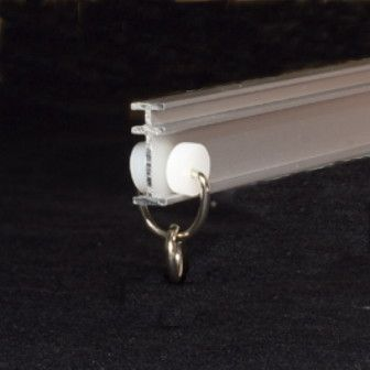 Recmar 4108 Bendable I Beam Curtain Track 8 Feet Curtain Track