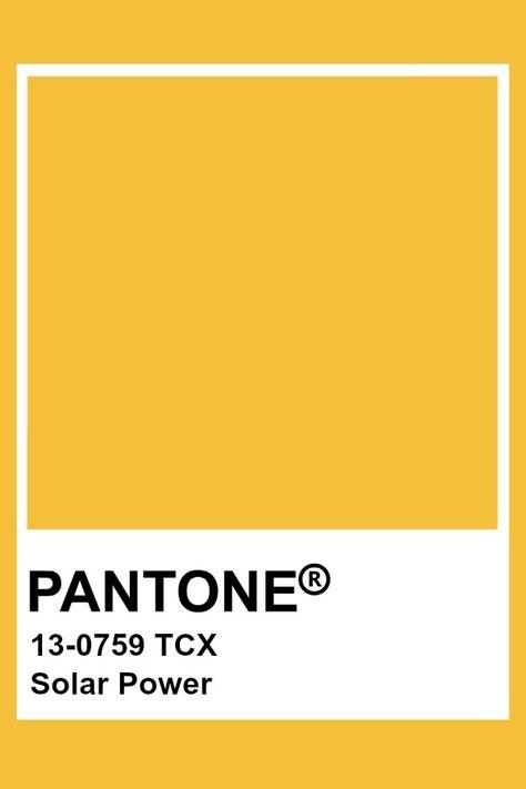 Pantone Solar Power