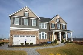 Front Elevation Ryan Homes Corsica At Chancellorsville Crossing