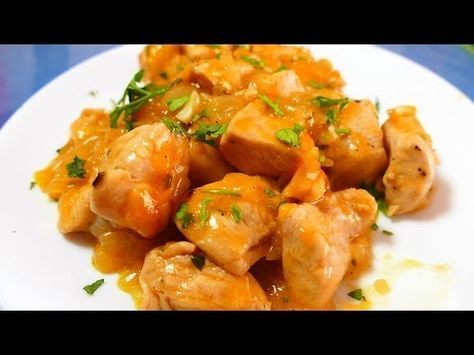 Pollo A La NARANJA Receta CHINA   Recetas De Cocina Faciles Rapidas Y  Economicas De Hacer   YouTube