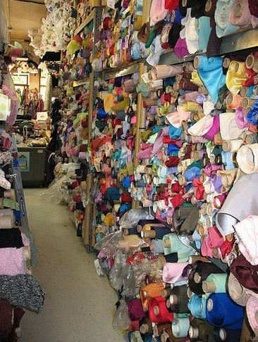Sewing Article: Fabric Shopping in the Los Angeles Fashion District