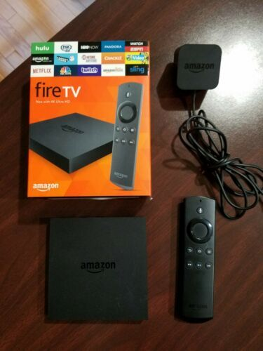 Amazon Fire Tv 2nd Generation 4k Ultra Hd With Voice Control W Original Package What Is Chromecast Audio Chromecast Audio Is Fire Tv Amazon Fire Tv Chromecast