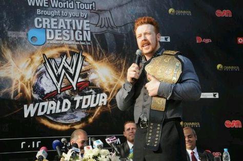 """WWE Sheamus /& Cesaro /'Il bar /""""Magliette Personalizzate per Mattel figure."""