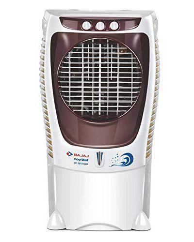 Bajaj Dc2015 43 Litres Desert Room Air Cooler White For Large Room In 2020 Room Air Cooler Air Cooler Room Cooler