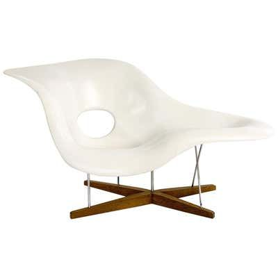 Vitra La Chaise Chair By Charles And Ray Eames In 2020 Eames Chaise Eames Chaise Lounge Eames Leather Lounge Chair