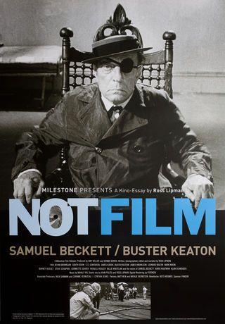 Notfilm 2016 U S One Sheet Poster Samuel Beckett Documentaire Cinema