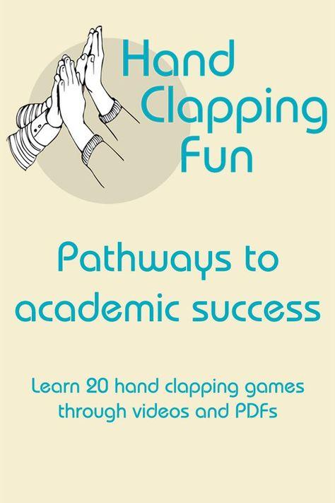 Kinder Denken Handklatschen Spiele Sind Nur Eine Lustige