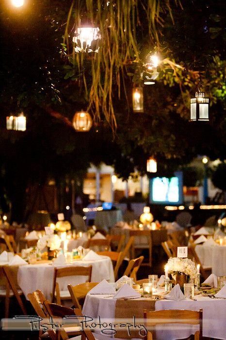 A Garden Wedding Reception At Postcard Inn On St Pete Beach FL