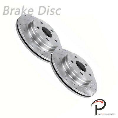 Ram 1500 2WD 00-01 FRONT Brake Rotors Ceramic Pads
