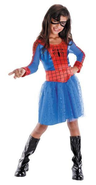Spider-Girl Tutu Skirt Spider-Man Marvel Superhero Halloween Costume Accessory