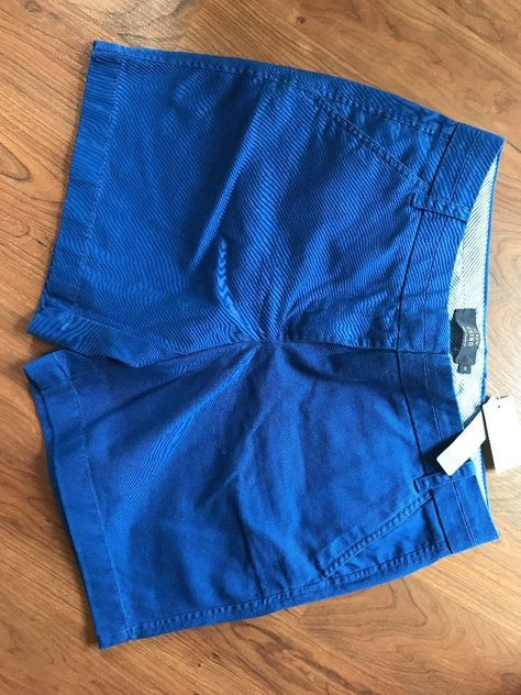 quality design brand new shoes for cheap J. Crew Women's Size 8 Blue Chino Shorts NWT 7 Inch Inseam ...