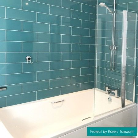 Tesoro Grunge Aqua 3 X 12 Wall Tile Wall Tiles Ceramic Wall