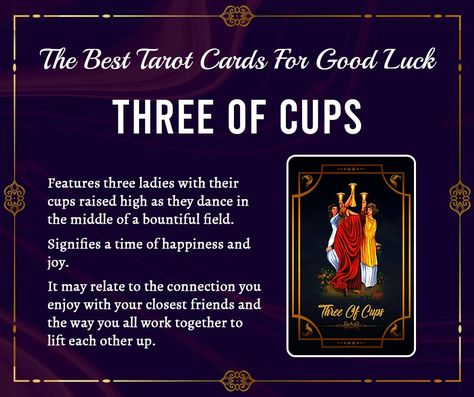 The Three of Cups is a card of celebration, friendship, sisterhood, and creative collaborations. Your friends and family are here to support you and lift you up to even higher levels of success. #tarot #tarotcards #tarotreading #tarotreader #tarotreadersofinstagram #witch #love #astrology #threeofcups #witchesofinstagram #tarotonline #spirituality #spiritual #healing #crystals #virgo #meditation #tarotreadings #goodlife #thestartarotcard #tarotspread #thestartarot #art #guidance #horoscopo #ho