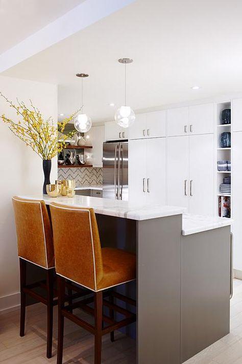 sarah richardson vintage modern condo kitchen