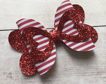 Excited to share this item from my shop: Valentine's Day Bows Bows for Valentine's Day Valentine's Day Baby Headband Faux Leather Bows Canvas Bows Red Glitter Bow Handmade Hair Bows, Diy Hair Bows, Diy Bow, Unique Hair Bows, Ribbon Hair, Baby Bows, Baby Headbands, Bows For Babies, Flower Headbands