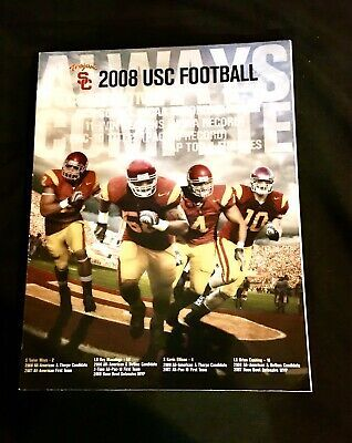 Details About Rare 2008 Usc Trojans Football Media Guide Yearbook