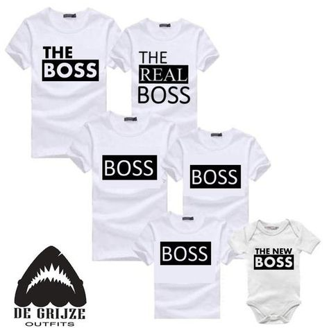 Boss family shirts - Baby Boss Shirt - Couples Family Matching Outfit - Boss Lady Shirt - king queen shirt Christmas outfits