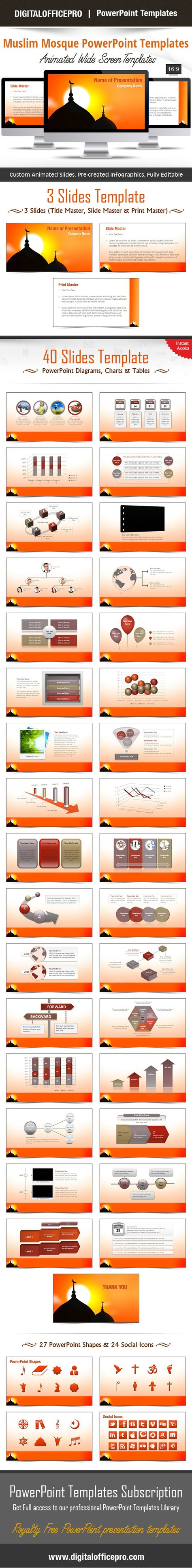 Purple mosque powerpoint template powerpoint templates purple mosque powerpoint template powerpoint templates pinterest mosque and template toneelgroepblik Image collections