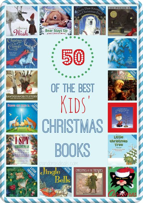 50 of the Best Kids' Christmas Books http://www.supercouponlady.com/2013/11/50-best-kids-christmas-books.html/