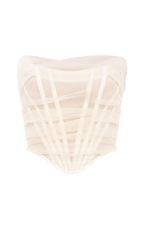 Its internal layer is made from our very special stretch power mesh that sculpts the figure and literally acts as shapewear within our clothing. Stage Outfits, Fashion Outfits, Gothic Fashion, Wedding Dress Bustle, Strapless Corset, Corset Dresses, Boned Corsets, House Of Cb, Rhinestone Dress