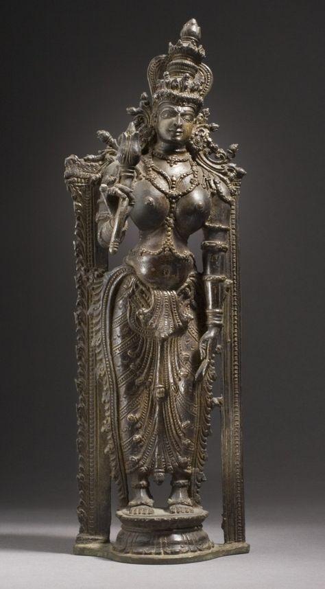 The Hindu Goddess Shri Lakshmi  India, Kerala, 16th century