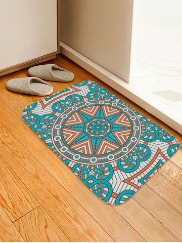 Mandala Pattern Water Absorption Area Rug Wohnzimmer Ideen