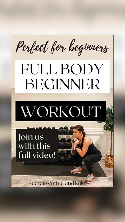 Beginner Full Body Workout