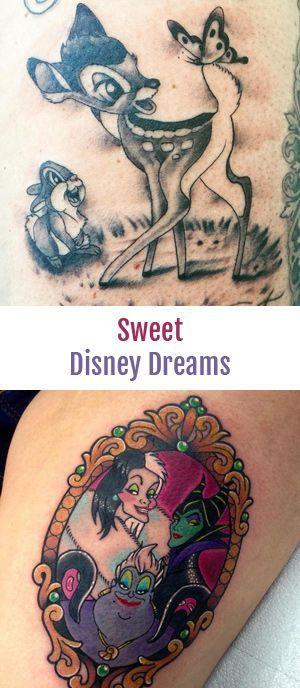 DIESE 10 Tattoo-Ideen werde ALLE Disney-Herzen höher
