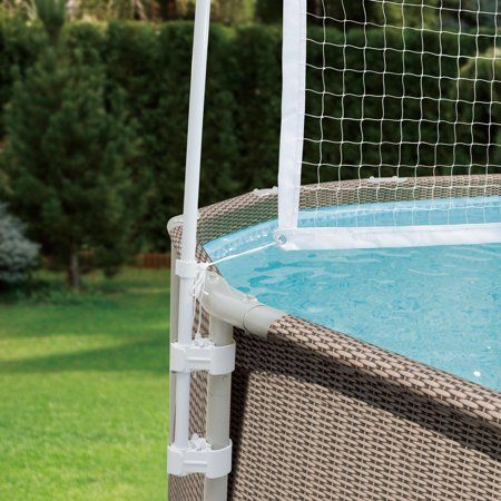 Summer Waves Volleyball Net For 10 20 Metal Frame Above Ground Swimming Pools Walmart Com Above Ground Swimming Pools Pool Pool Volleyball Net